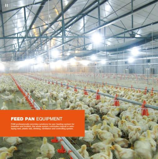 Flat Rising System Feed Pan EQPT, Flat Rising System Feed