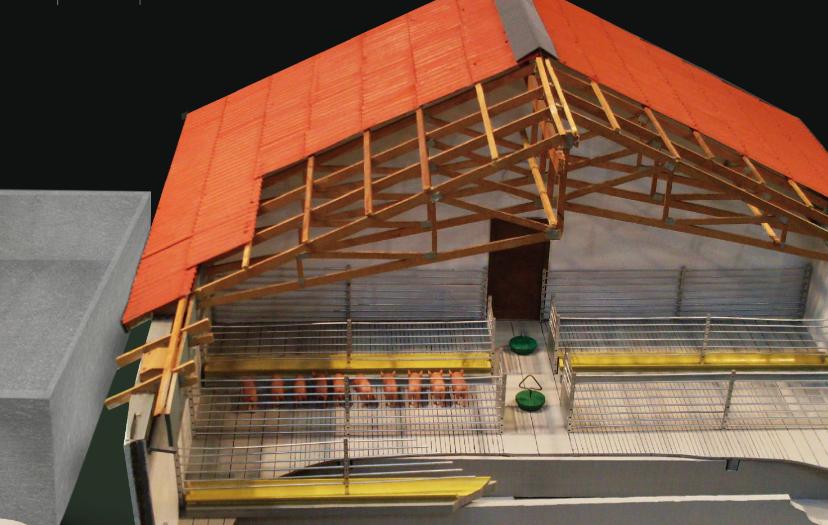 estructura de acero plasmin geno marco techos casa pared